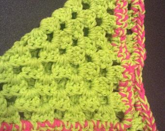 Handmade Washcloth made in the USA