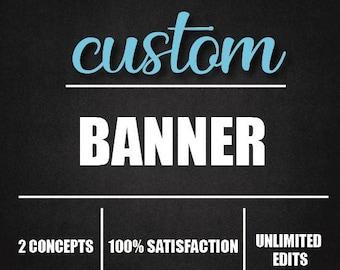 Etsy Banner, Facebook banner, Etsy, Facebook profile, Youtube banner, brand logo, wallpaper, logo design