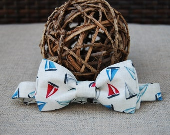 Sailboat bow tie