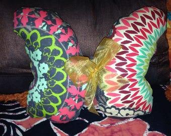 Handmade Butterfly cushion