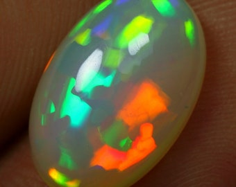 4.20cts 3D Flagstone Pattern Natural Ethiopian Welo Opal