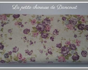 Fabrics metis mauve spring blossoms