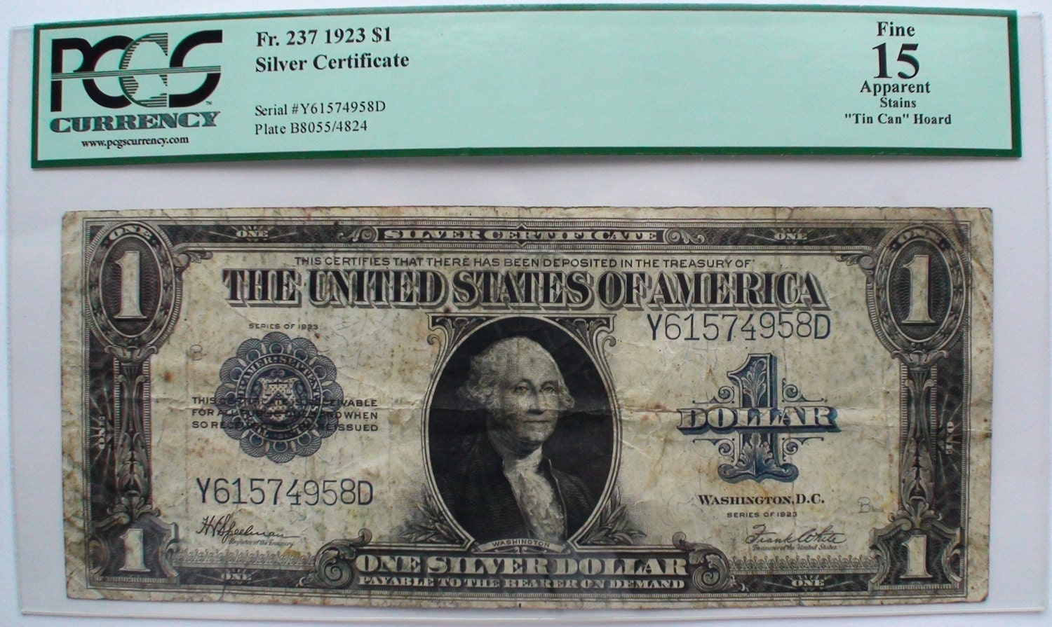 1923 us one 1 dollar bill note old currency paper money george zoom xflitez Images