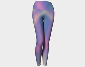 Blue opal yoga leggings,yoga pants,yoga capris,leggings,activewear,women's leggings,workout leggings,yoga clothing,jog pants,gifts for her