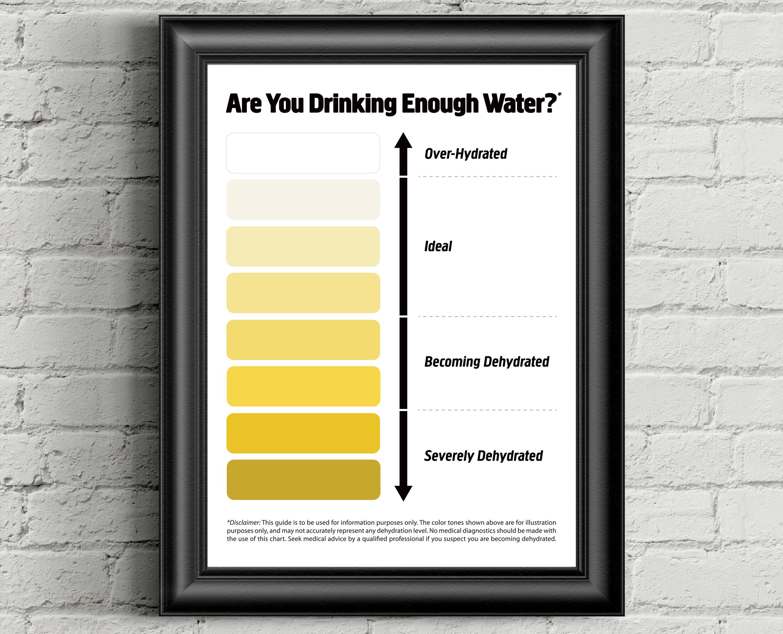 Urine color chart pee color chart water intake chart pee zoom nvjuhfo Gallery