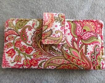 Fabric Wallet - Paisley