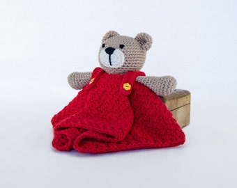 Amigurumi Teddy Bear Free Patterns : Candy bear toy teddy bear knitting pattern pdf plus free
