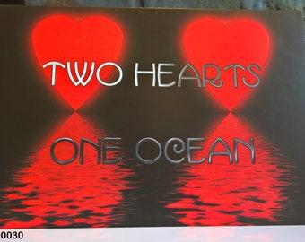 One Ocean - Valentine Card