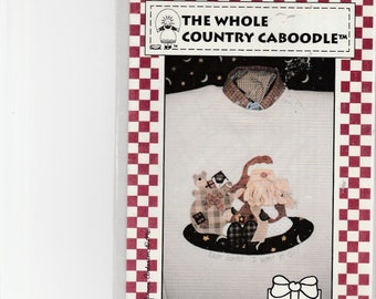 """The whole Country caboodle Patterns  """"Dear santa I want it all"""" applique"""