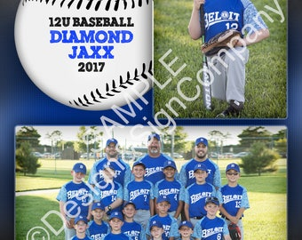 INSTANT DOWNLOAD** Baseball, Softball, Sports Memory Mate