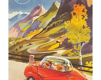 Poster - Messerschmitt KR 200-1953-fine art gallery