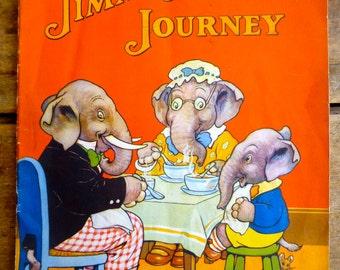 Jimmy Jumbo's Journey Paperback Children's Book 1930s