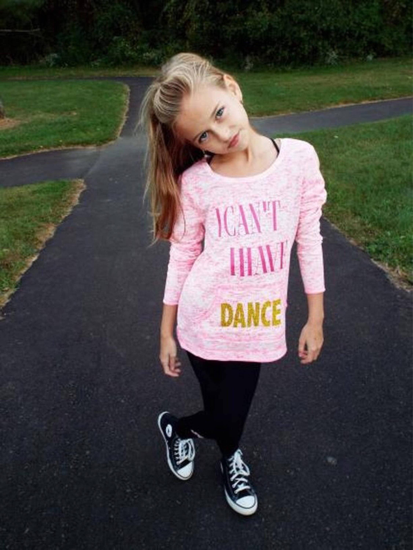 Brand-new Girls dance shirt,girls dancewear,dancewear,dance shirts with  SR46