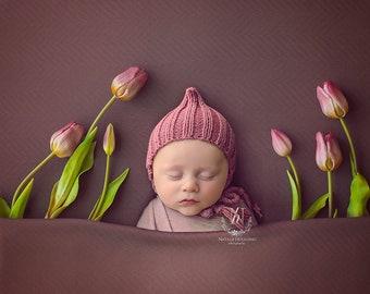 Deep Pink poppet