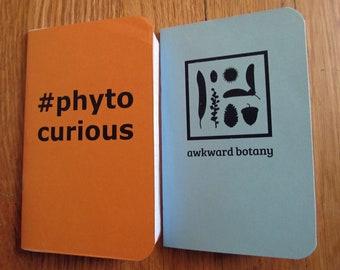 Awkward Botany Pocket Notebooks, Collection 1