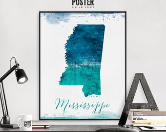 California wall art print, United states map poster, travel poster, gift, home Decor, iPrintPoster