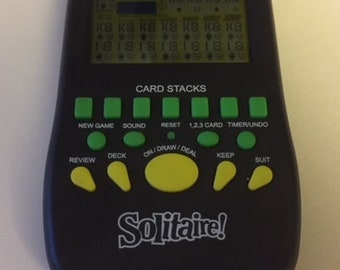 Hand held LCD  Solitare Game