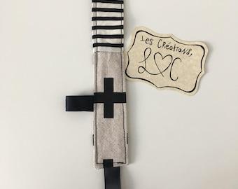Pacifier striped modern