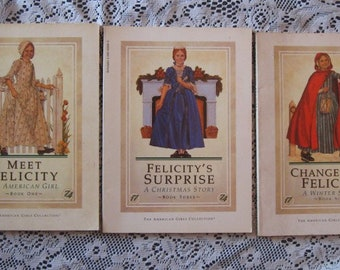 American Girl Felicity Books - Set of Three