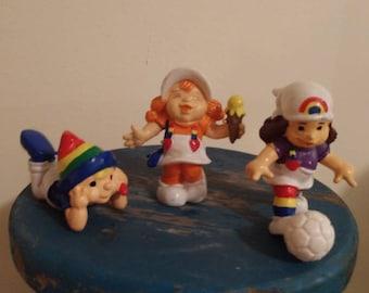 1980 Rainbow Brite figurines