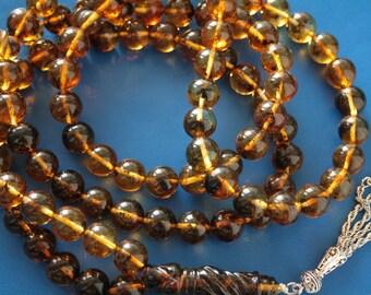Genuine Baltic Amber 99  Prayer Beads 135 gr