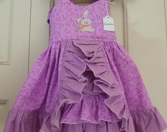Sun dress - Orchid Ruffled (12 month)