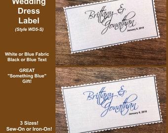 BRIDAL DRESS LABELS