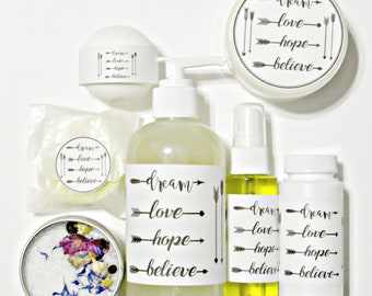 Bath and Body Gift Set | Spa Gift | Gift for Her | Womans Gift | New Mom Gift | Coworker Gift | Teacher Gift | Gift Under 50 | You Pick