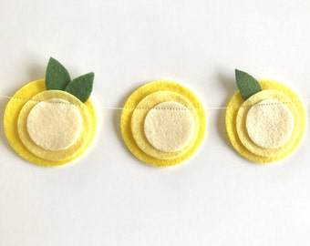 Lemonade Garland// Lemon Garland//Lemon Decor// Lemons// Yellow Garland// Summer Garland// Yellow Nursery Decor