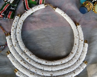 Round beaded necklace