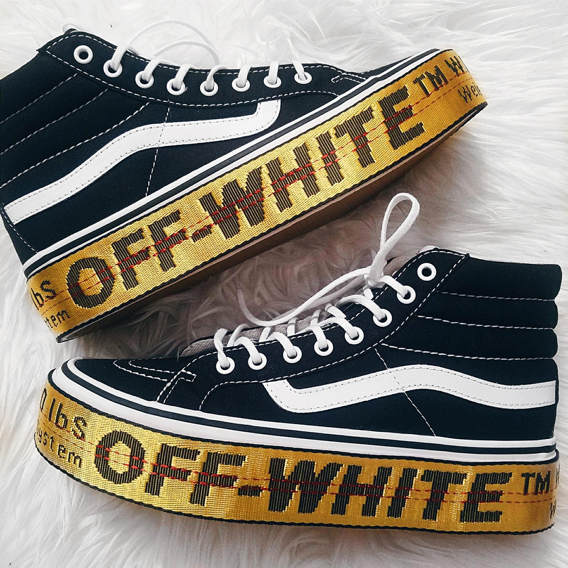 off white vans