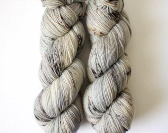 CHIMNEY SWEEP | US Sock | Hand-Dyed Yarn | Sock Weight | 80/20 Superwash Merino Wool / Nylon | Merino Raised in United States | 21 Microns