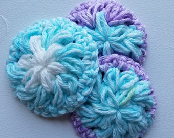 Crocheted, Eco-Friendly Face Pads