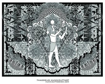 Thoth with geometry