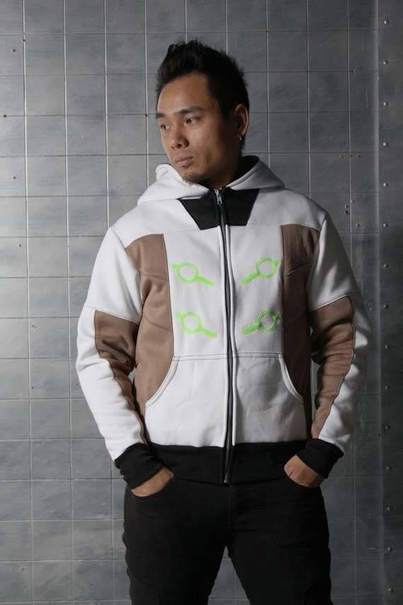 Genji Cyber Ninja Overwatch Cosplay Costume Hoodie Jacket 80Cq6nFK