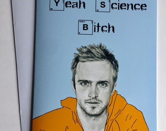 Breaking Bad Illustrative A5 Card - Jesse Pinkman/Aaron Paul
