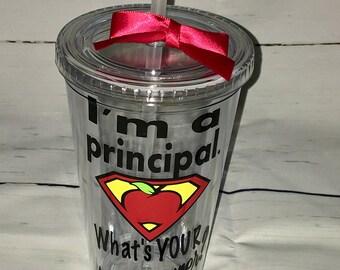 Principal Gift - Personalized Principal Gift - Assistant Principal Gift  - Vice Principal Gift - Principal Cup - Principal Mug