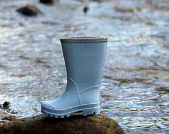 Blue rubber boots - Kids rain boots - Baby gumboots - Childrens rubber boots - Blue rain boots - Toddler rainboots - Kids gumboots