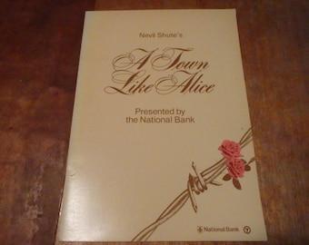 "Neville Shute's ""A Town like Alice."" programme, 1979."