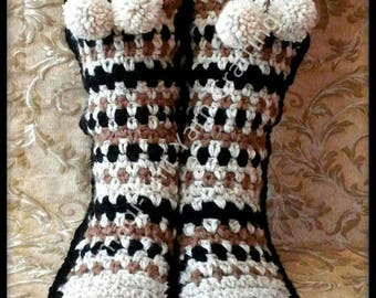 Alpine Slipper Boots