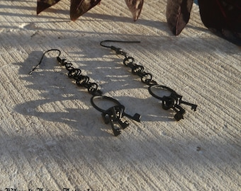 Jailer's Keys Earrings