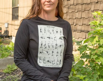 Long Sleeved | One Handed Alphabet - Sign Language | Victorian Deaf Culture | T-Shirt