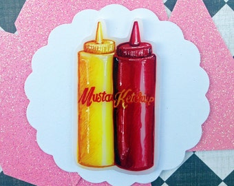 Ruby's Diner : Ketchup and Mustard