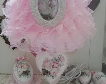 light pink cottage chic shabby