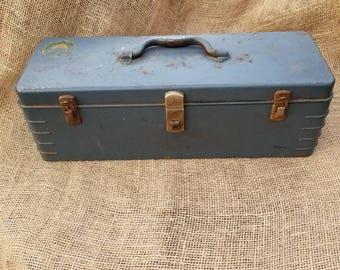 Hamilton Metal Tool Box  Hamilton Metal Tackle Box