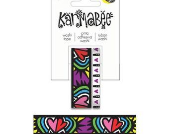 Karmabee Hearts Washi Tape