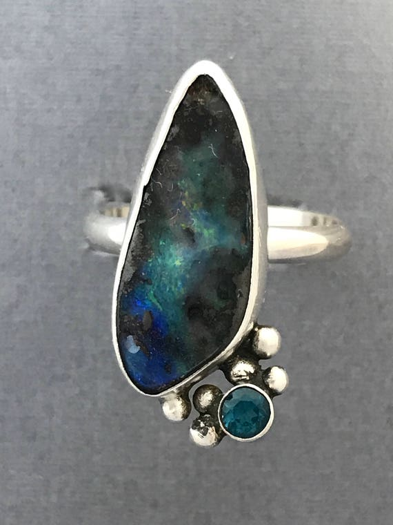 See the galaxy in the opal