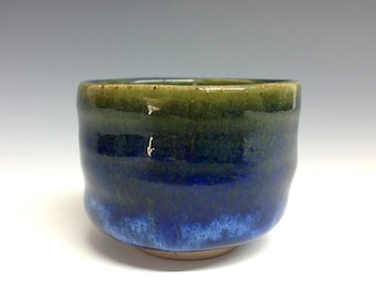 Out to Sea - chawan - whiskey cup