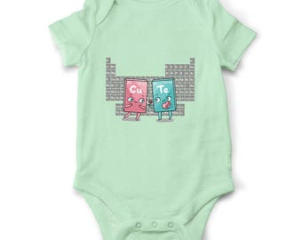 Cute baby girl onesie, Geeky baby clothes, Science baby bodysuit, Baby shower gift