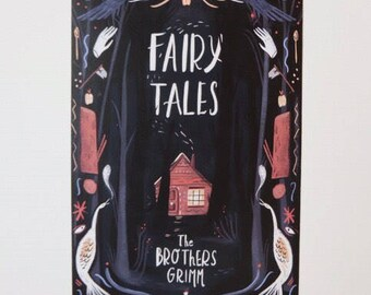 Grimms Fairy Tale Print